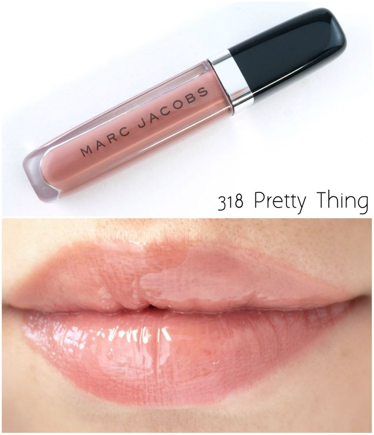 The Happy Sloths: Marc Jacobs Enamored Hi-Shine Lip Lacquer: Review and Swatches