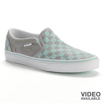 Vans Asher Skate Shoes - Women #Kohls101