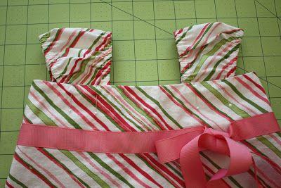 skirt to dress refashion tutorial