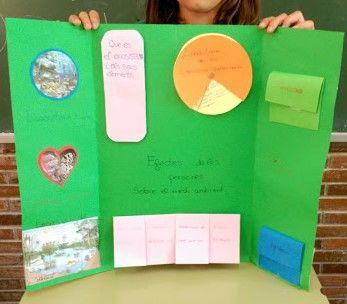 Lapbook los ecosistemas. Quinto de Primaria