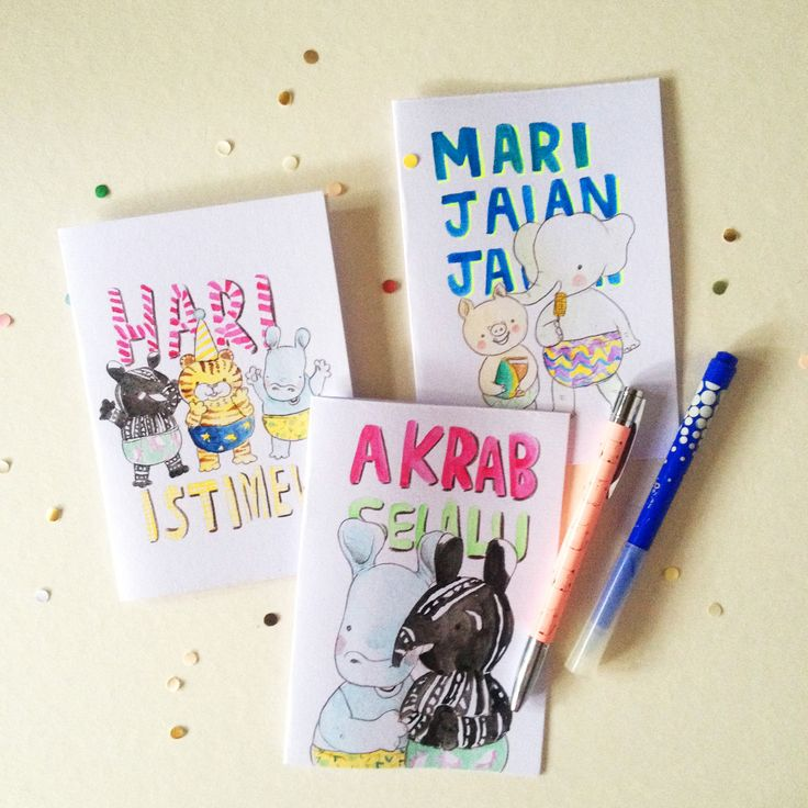 guyu 'kartu sayang'   greeting cards