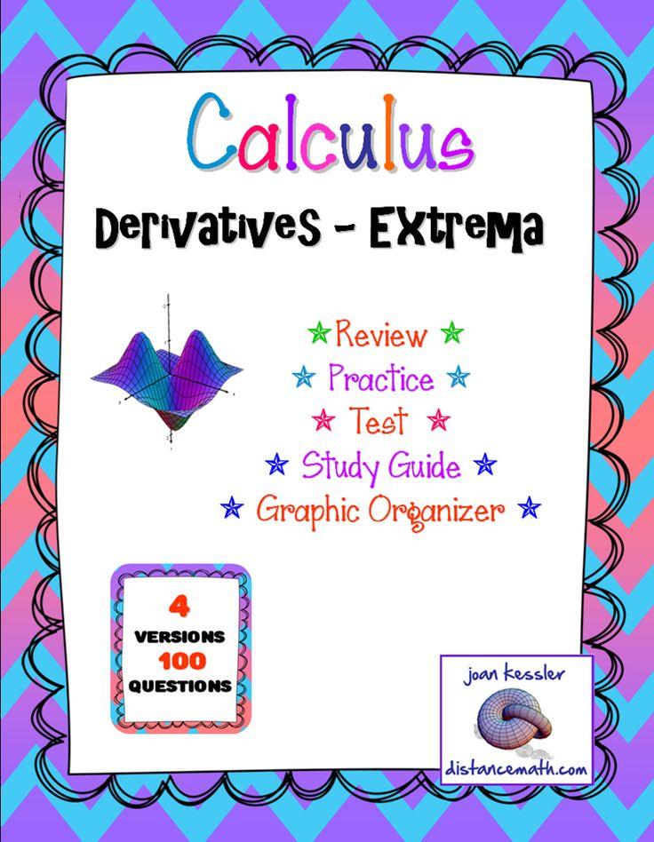 Calculus extrema this lesson is designed for ap calculus