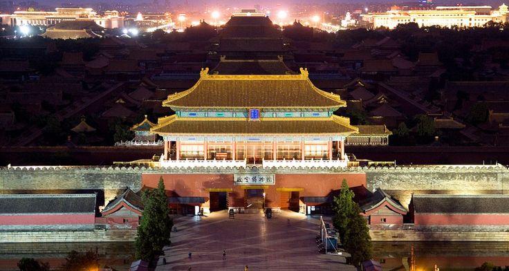 China: Die schönsten Städte bei Nacht - Peking   © CC Dimitry-B. via Flickr