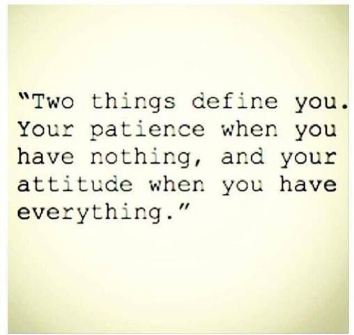 Truer words were never spoken.