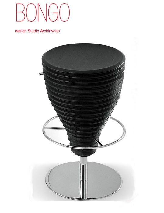Italian Ibebi Design Is Giving You A Stylish Place To Park It With Its New  Bongo And Hula Op Modern Bar Stools. These Ultra Modern Bar Stool Designs  Boast