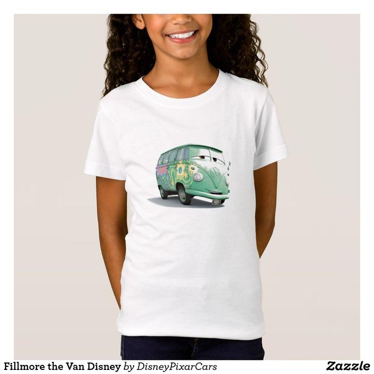 Fillmore the Van Disney. Producto disponible en tienda Zazzle. Vestuario, moda. Product available in Zazzle store. Fashion wardrobe. Regalos, Gifts. Trendy tshirt. #camiseta #tshirt