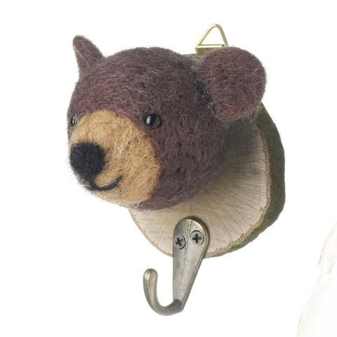 Little bear coat hook