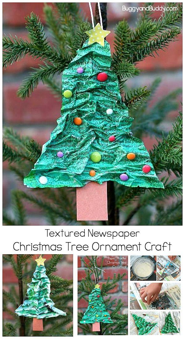 How To Make A Newspaper Christmas Tree Recycled Christmas Tree Alternative Christmas Tree Paper Mache Christmas