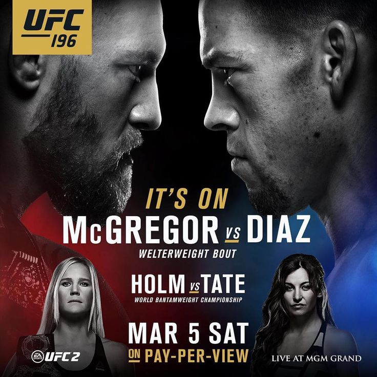 Conor McGregor vs Nate Diaz fight promo : if you love #MMA, you'll love the #UFC & #MixedMartialArts inspired fashion at CageCult: http://cagecult.com/mma