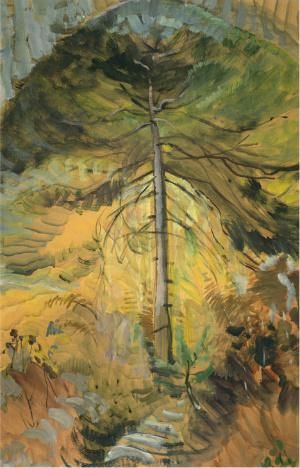 """Limited Edition Emily Carr Print, """"Happiness"""" 1939"""
