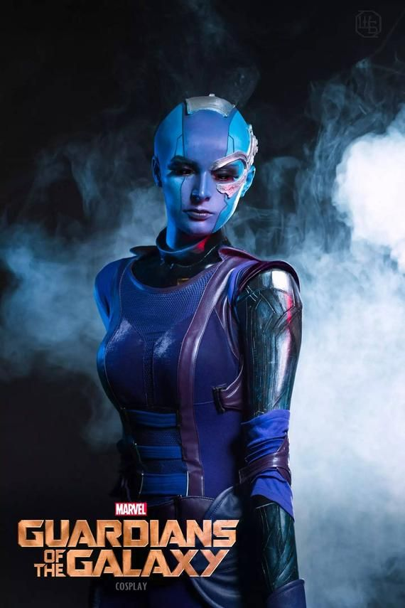 Nebula Galaxy Guardian Cosplay Costume Galaxy Nebula Marvel Guardians Of The Galaxy Marvel