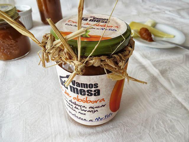 Pumpkin Jam with walnut