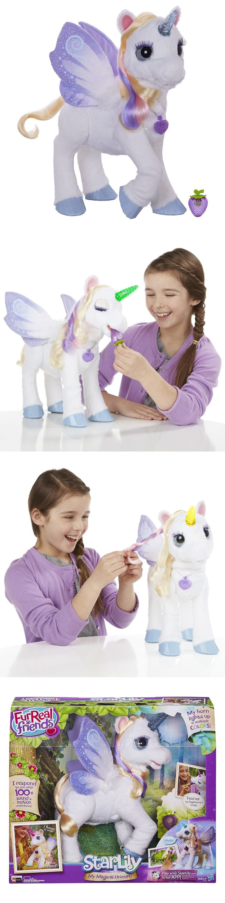 FurReal Friends 38288: Furreal Friends Star Lily My Magical Unicorn 100+ Responses Giggles Wiggles New -> BUY IT NOW ONLY: $98.99 on eBay!