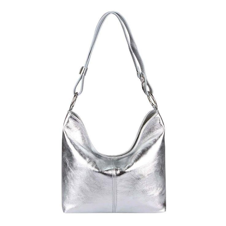 . ITAL LEDER TASCHE Damentasche Shopper CrossOver Hobo-Bags Schultertasche Umhängetasche Handtasche Henkeltasche Ledertasche