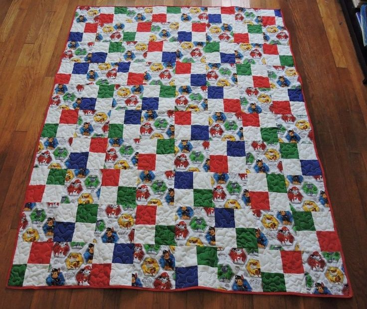 7 best quilts images on Pinterest   Paw patrol, Patchwork and Baby ... : handmade quilt sizes - Adamdwight.com