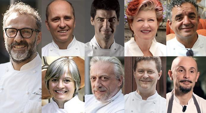 Nove italiani nella top 100 degli chef mondiali