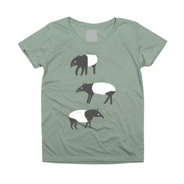 バクレディース 動物(アニマル) TシャツTcollector by tcollector ファッション Tシャツ