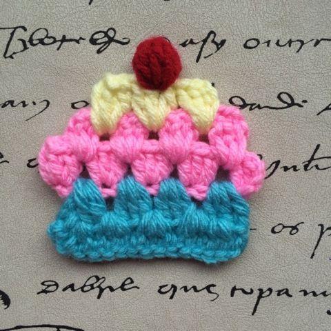 Las Varetas Crochet: Tutorial: Cupcakes a Crochet (estilo Granny)