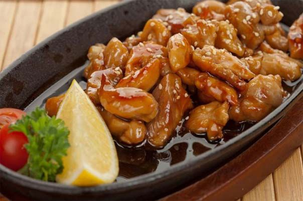 How to cook at home the chicken in the «Teriyaki» sauce as in a Japanese restaurant.