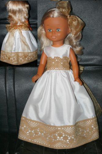 NANCY . VESTIDO LARGO BEIG /CAMEL   eBay
