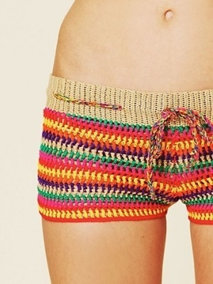 Shorts: Naturadmc Crochet, Mita Shorts, Punta Mita, Crochet Shorts, Crochet Pants, Free People, Crochet Patterns, Crochet Knits, Crochet Clothing