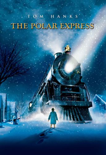 Art Poster: The Polar Express 2004 Movie Posters Classic Vintage Films Art Print 36X24Inch