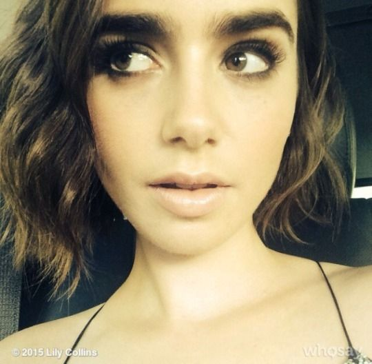 Lily Collins. She doesn't even need to try. Absolutely flawless.