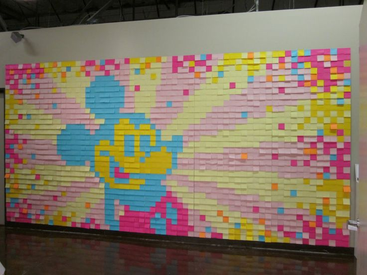 Post-it Note Mural