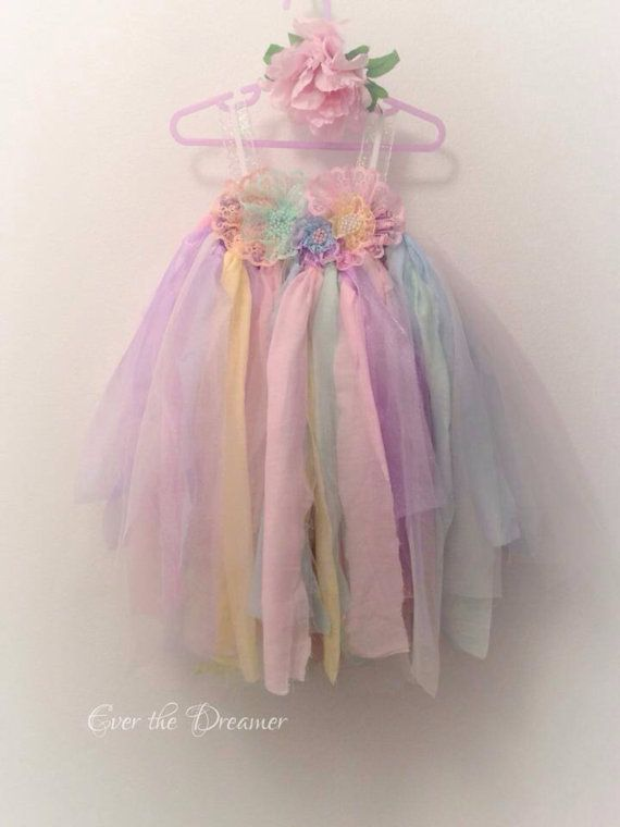 Hey, I found this really awesome Etsy listing at https://www.etsy.com/listing/200988710/fairy-rainbow-pastel-dress-tulle-lace