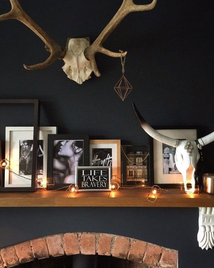 Мрачная сказка о стиле: очень темный дом 140 м² в Англии – Красивые квартиры