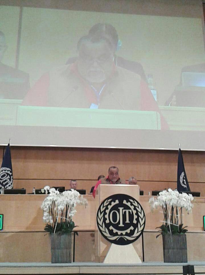 Wills Rangel en su intervención en la OIT Ginebra, junio 06- 2016(Prensa CBST).- El Presidente de la Central Bolivariana Socialista de Trabajadores (CBST), Wills Rangel,denunció a Fedecámaras y a la Organización Internacional de Empleadores (OIE) de violar los postulados de la Organización Internacional del Trabajo (OIT) al solicitar la derogatoria de la Ley Orgánica del …
