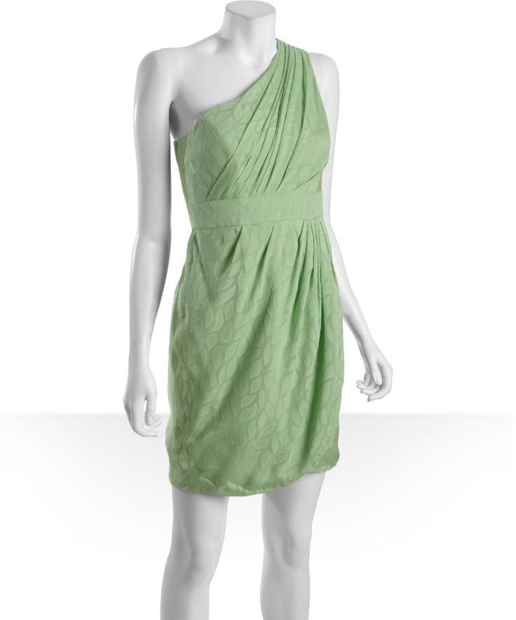 One Shoulder Grecian Pattern