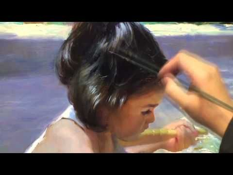 ▶ CREATING OF PAINTING theme 6, soundtrack by Volegov - YouTube