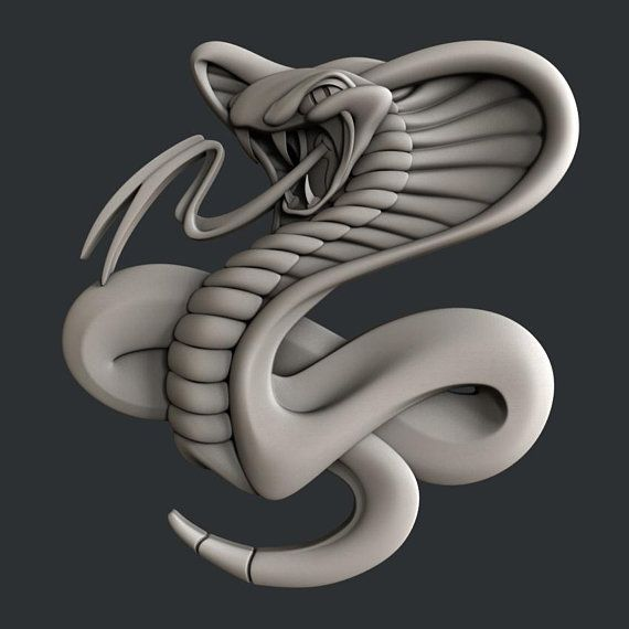 3d Stl Models For Cnc Cobra Etsy Cnc 3d Printer Designs Stl File Format