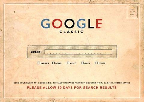 Google before Google