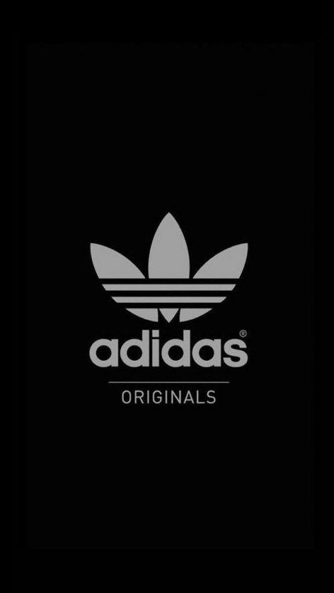 Adidas Originals Black Iphone Wallpaper Iphone Wallpapers In 2019