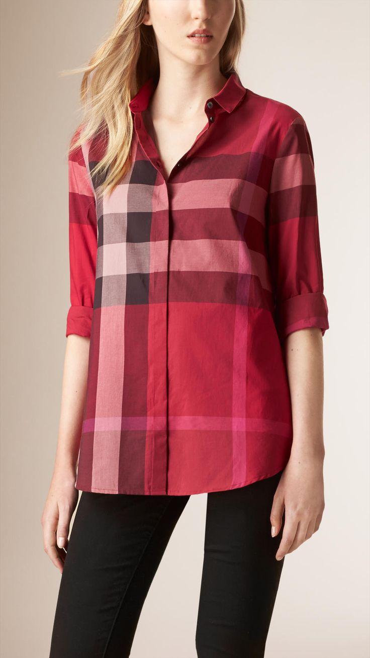 Très Les 25 meilleures idées de la catégorie Burberry chemise sur  IU35