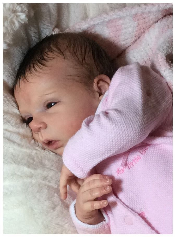 Lifelike / Fake Baby Doll Beautiful Carley Reborn LeLou By Evelina Wosnjuk