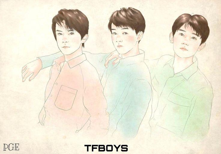 #TFBOYS #Karry #Roy Jackson #王俊凯 #王源 #易烊千玺