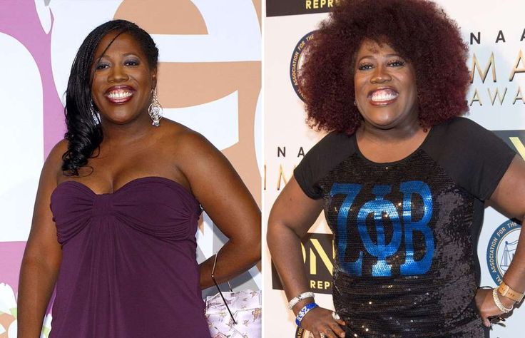 SHERYL UNDERWOOD: 2004 AND 2017 -  Daytime talk show hosts: then and now  -  April 24, 2017
