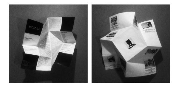 origami brochure - invitation by Safak Erdihan,