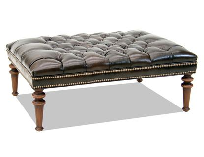 old hickory tannery 11 Turned Foot Bench