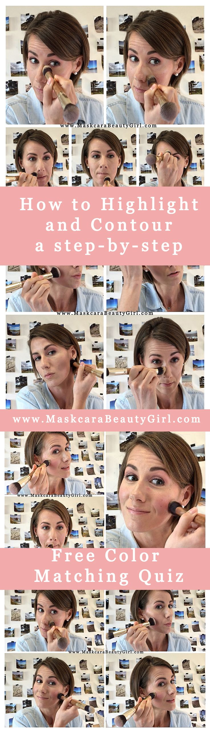 how to highlight and contour Maskcara makeup how to hac a step by step guide to …