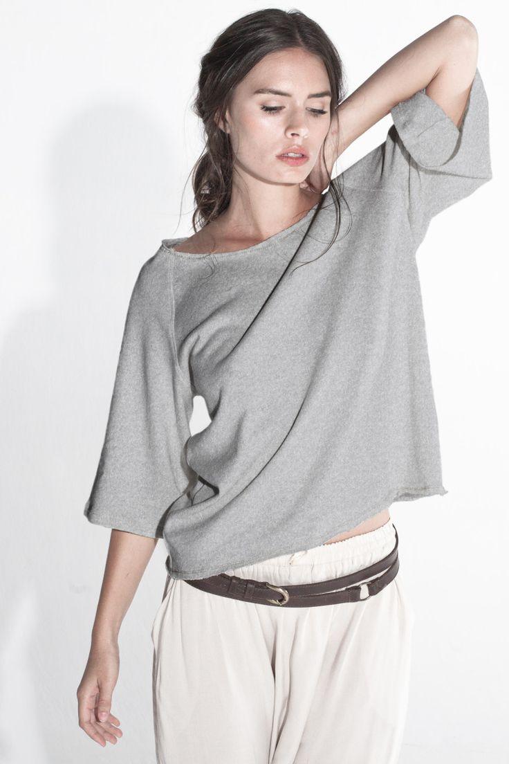 Sitting Pretty | Shop | AW15 | Organic | Winter knit top