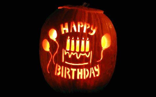 Happy Birthday Jack O Lantern