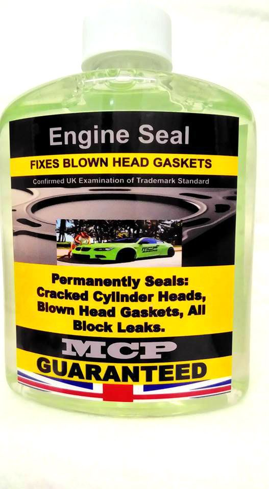 STEEL SEAL HEAD GASKET SEALER, MCP, PREMIUM QUALITY INSTANT SEALANT,,,,2x16 OZ,, #EngineSealMCP