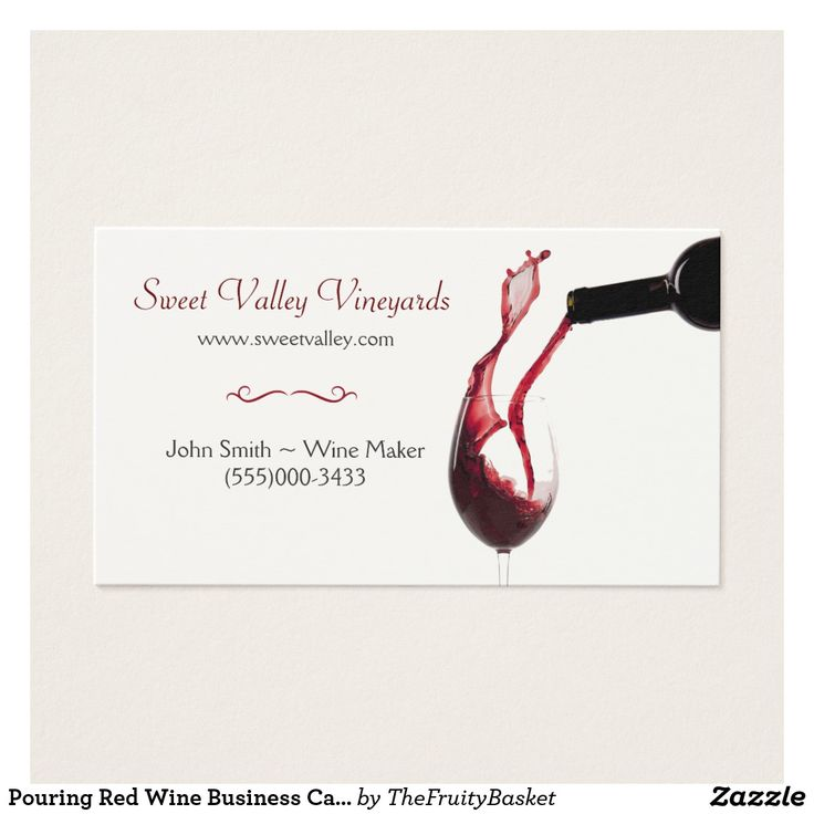 22 best Winery Wine Making Business Cards images on Pinterest | Wine ...