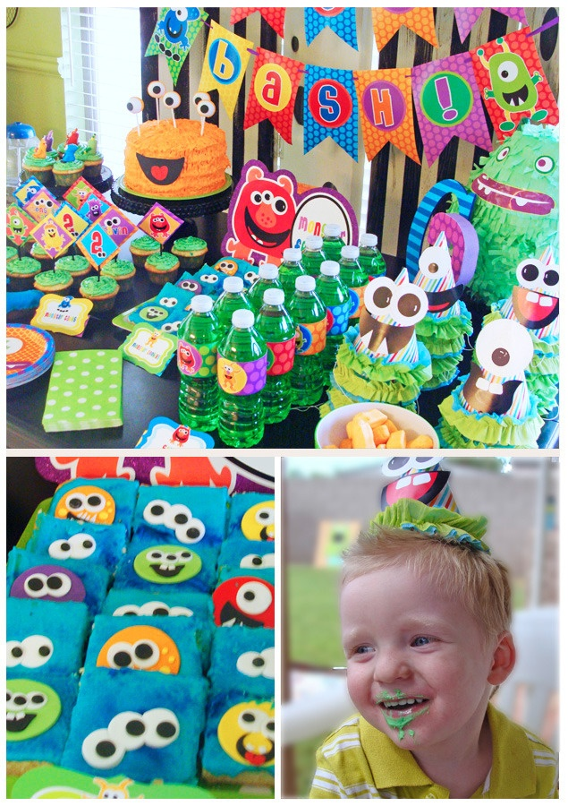 Cute Monster party