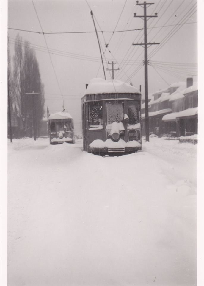 Corey Ave , Braddock,Pittsburgh,Pennsylvania - 1950 snowfall, 25 inches