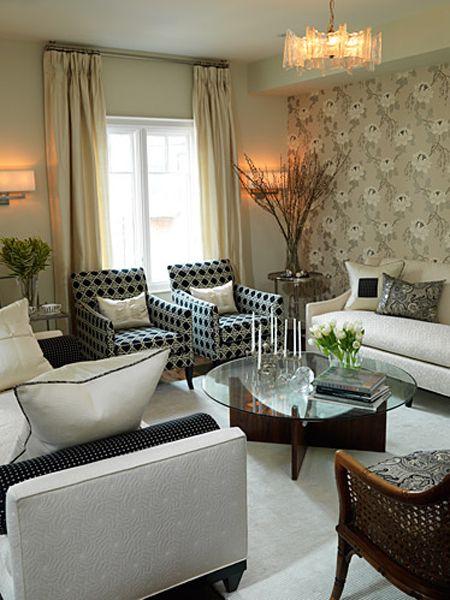 living room by Sarah Richardson
